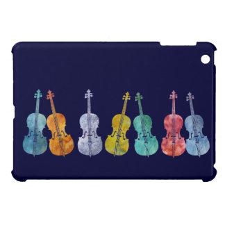 Multicolored Cellos Cover For The iPad Mini