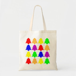 Multicolored Christmas Trees Bags