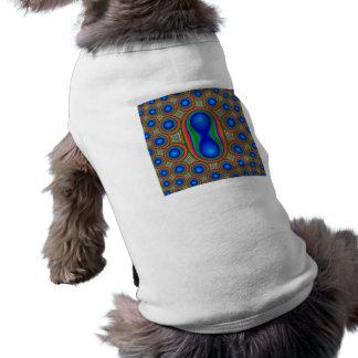 Multicolored Circle pattern Pet T Shirt