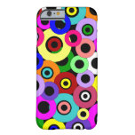 Multicolored Circles Barely There iPhone 6 Case