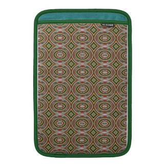 Multicolored Circles. Elegant Geometric Pattern Sleeve For MacBook Air