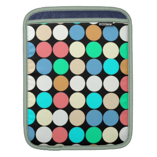 Multicolored Circles. Geometric Pattern Sleeve For iPads