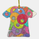 Multicolored circles ornaments