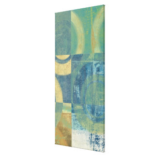 Multicolored Circles & Panels Canvas Print