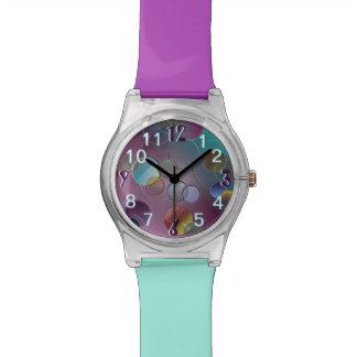 Multicolored Circles Watches