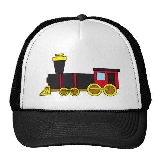 Multicolored Classic Train/Locomotive/Steam Engine Trucker Hat