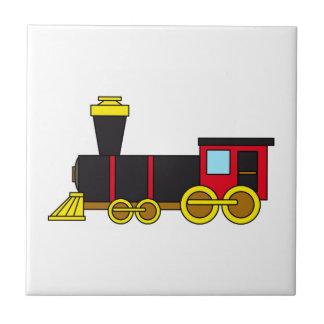 Multicolored Classic Train/Locomotive/Steam Engine Tile