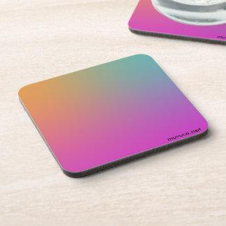 Multicolored Coaster