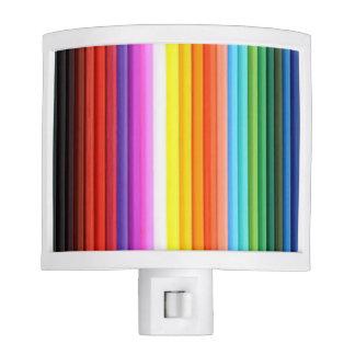 Multicolored Color Pencil Crayons Night Light