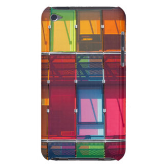 Multicolored commercial building detail iPod touch cover