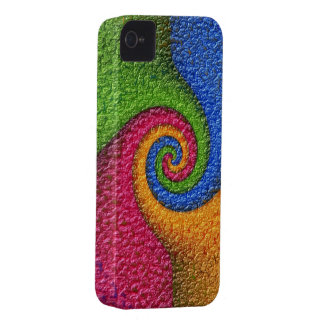 Multicolored covering Case-Mate iPhone 4 case