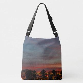 Multicolored Dawn Sky Crossbody Bag