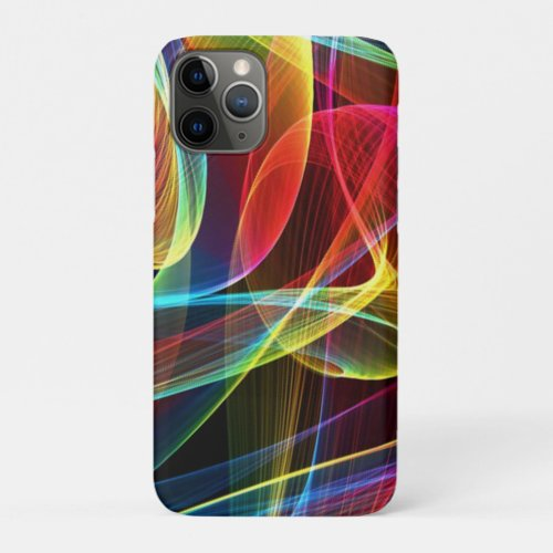 Multicolored Digital Ribbons Pattern