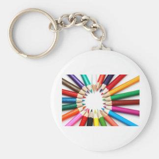 multicolored-donates keychain