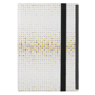 Multicolored dot background case for iPad mini