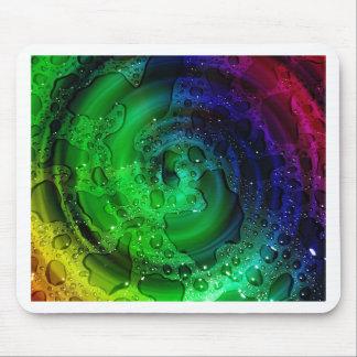 multicolored Drops by Tutti Mouse Pad