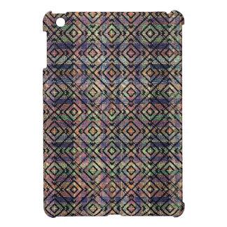 Multicolored Ethnic Check Seamless Pattern iPad Mini Cover