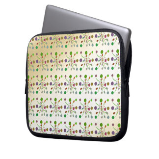 Multicolored examined computer sleeve