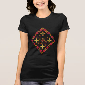 Multicolored examined T-Shirt