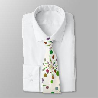 Multicolored examined tie