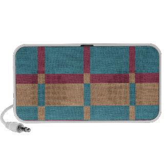 Multicolored Fabric Travelling Speaker
