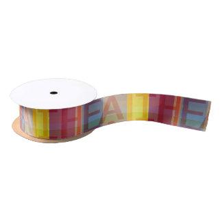 Multicolored Faith Religious Ribbon