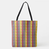 Multicolored Faith Tote Bag