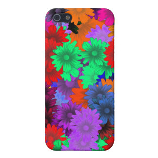 Multicolored floral cover for iPhone SE/5/5s