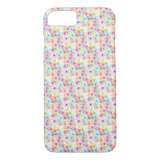 Multicolored Flower Design - iPhone 7 Case