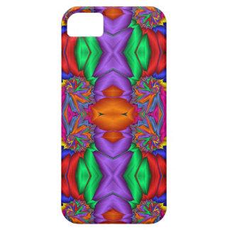 Multicolored fractal pattern iPhone SE/5/5s case