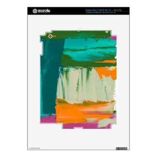Multicolored Free Expression Painting iPad 3 Decal