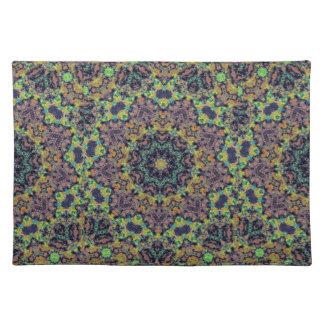 Multicolored Geometric Designer Placemat