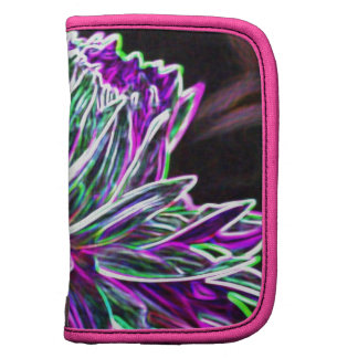 Multicolored Glowing Edge Dahlia Products Planners