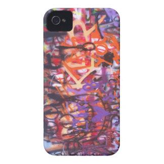 Multicolored Graffiti iPhone 4 Case