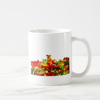 Multicolored Gummy Bears Coffee Mug