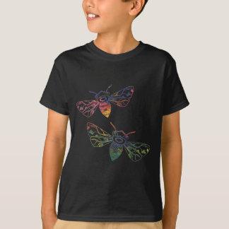 Multicolored Honeybee Doodles T-Shirt