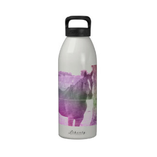 Multicolored Horse Water Bottles