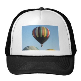 Multicolored hot air balloons trucker hat