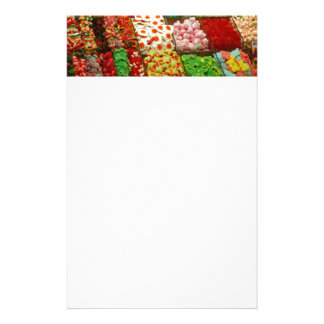 Multicolored-jellies-on-shelfs COLORFUL GUMMY CAND Stationery