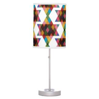 Multicolored Jewish Stars Pattern Lamps