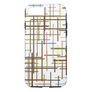 Multicolored Ladder Lining Pattern iPhone 8/7 Case