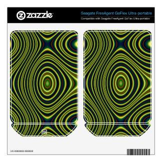 Multicolored line pattern (Edit) FreeAgent GoFlex Decal