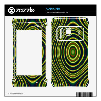 Multicolored line pattern (Edit) Skins For Nokia N8