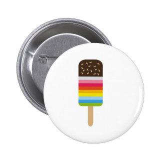 Multicolored Lolly Pop Icecream Button