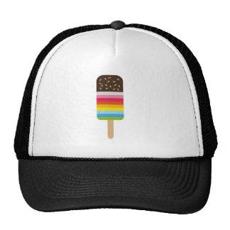 Multicolored Lolly Pop Icecream Trucker Hat