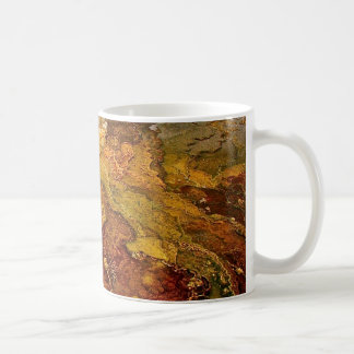 Multicolored mineral deposits in Yellowstone Coffee Mug