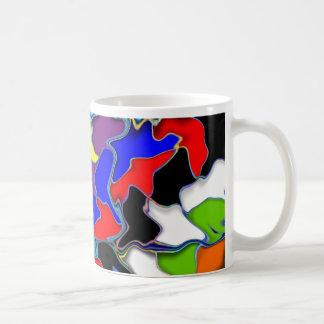 Multicolored Mixed Coffee Mug