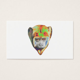 Multicolored Monkey Business Card