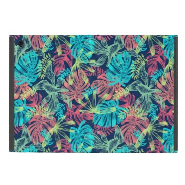 Multicolored Monstera of sheets Case For iPad Mini