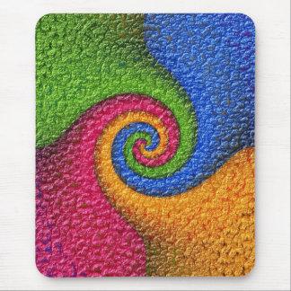 Multicolored mouse PAD